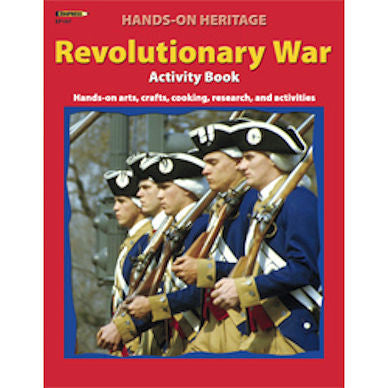 Hands-On Heritage Activity Book, Revolutionary War Workbook - EducationalLearningGames.com