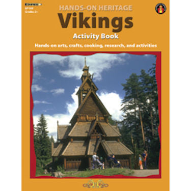 Hands-On Heritage Activity Book, Vikings EducationalLearningGames.com