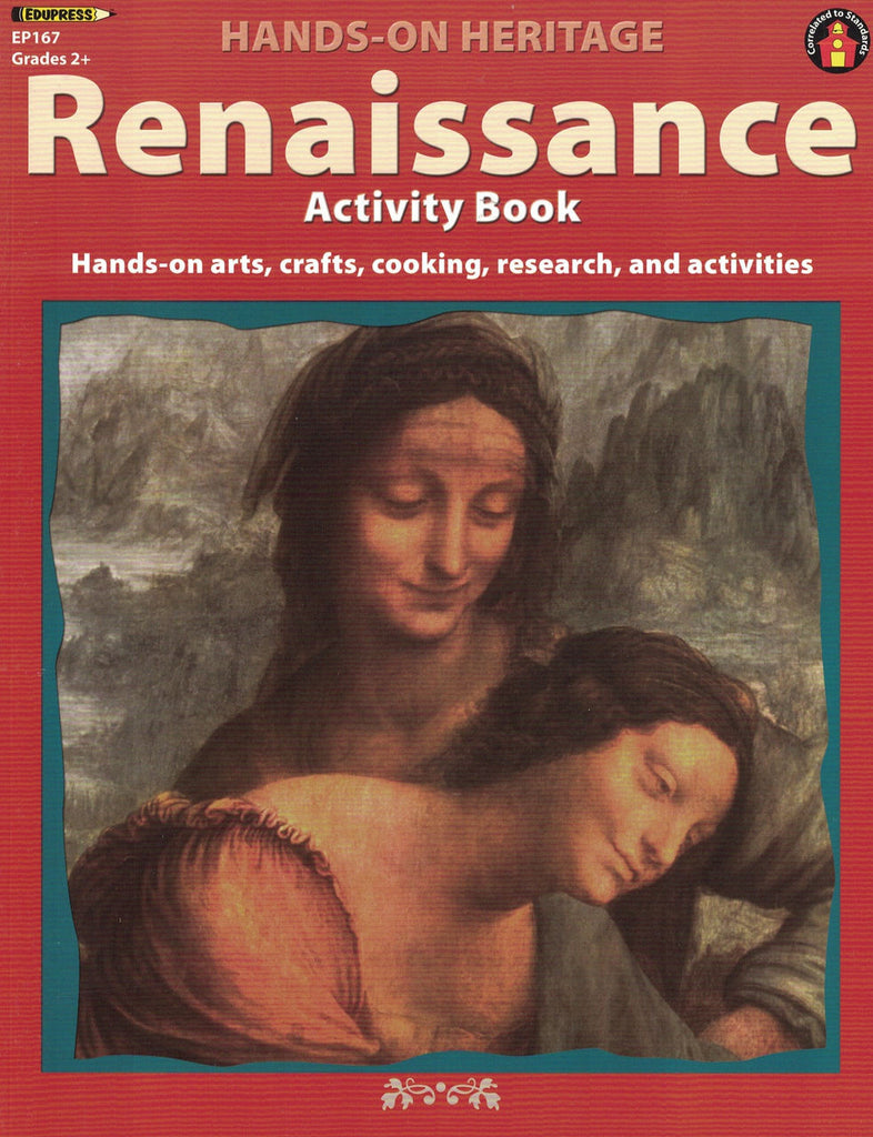 Hands-on Heritage Renaissance Activity Book EducationalLearningGames.com