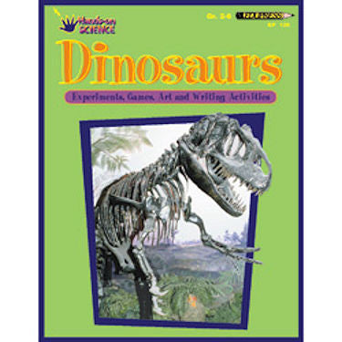Hands-on Science Activity Book, Dinosaur Workbook for Kids - EducationalLearningGames.com