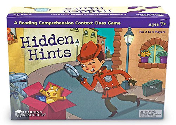 Hidden Hints Mystery Word Game