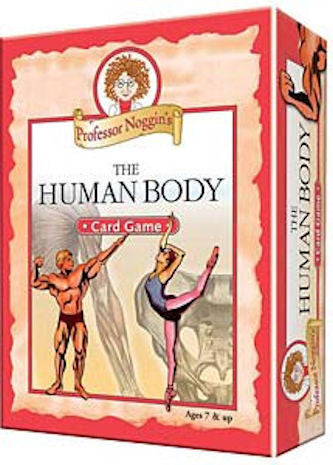 Human Body Professor Noggin's Card Game - EducationalLearningGames.com