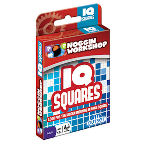 IQ Squares Card Game, Noggin Workshop EducationalLearningGames.com