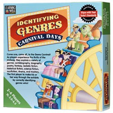 Identifying Genres Carnival Days Game - EducationalLearningGames.com