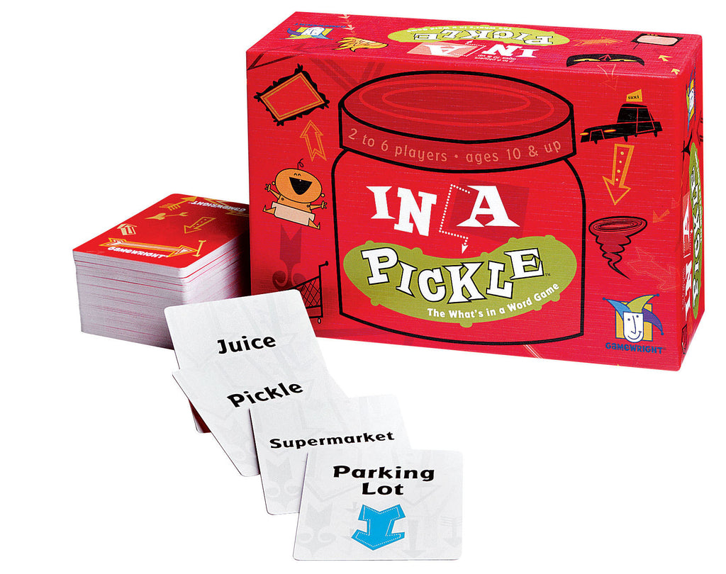 In A Pickle Card Game - EducationalLearningGames.com