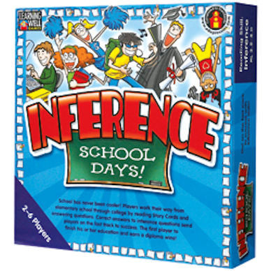 Inference School Days Game Blue Level - EducationalLearningGames.com