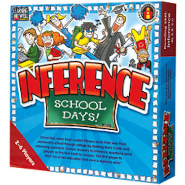 Inference School Days Game, Red Level EducationalLearningGames.com