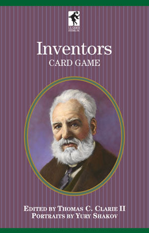 Inventors Playing Cards of Authors Series Game - EducationalLearningGames.com