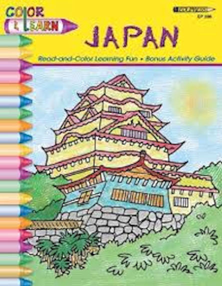 Japan Coloring Book - EducationalLearningGames.com