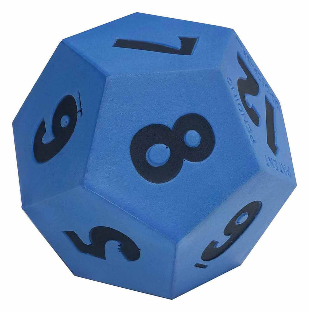 Jumbo 12-Sided Polyhedral Demonstration Foam Die - EducationalLearningGames.com