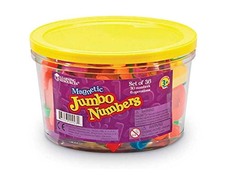 Jumbo Magnetic Numbers - EducationalLearningGames.com