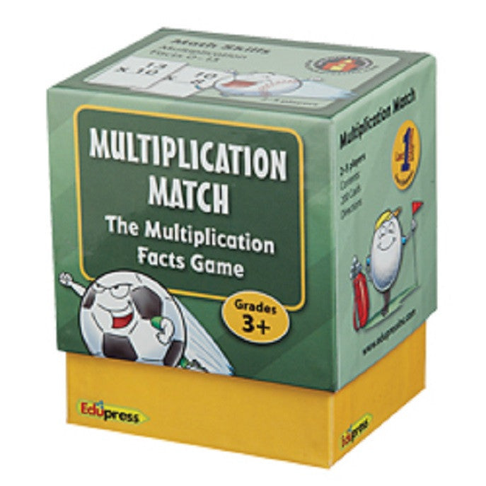 Multiplication Match Game Last One Standing Math Games