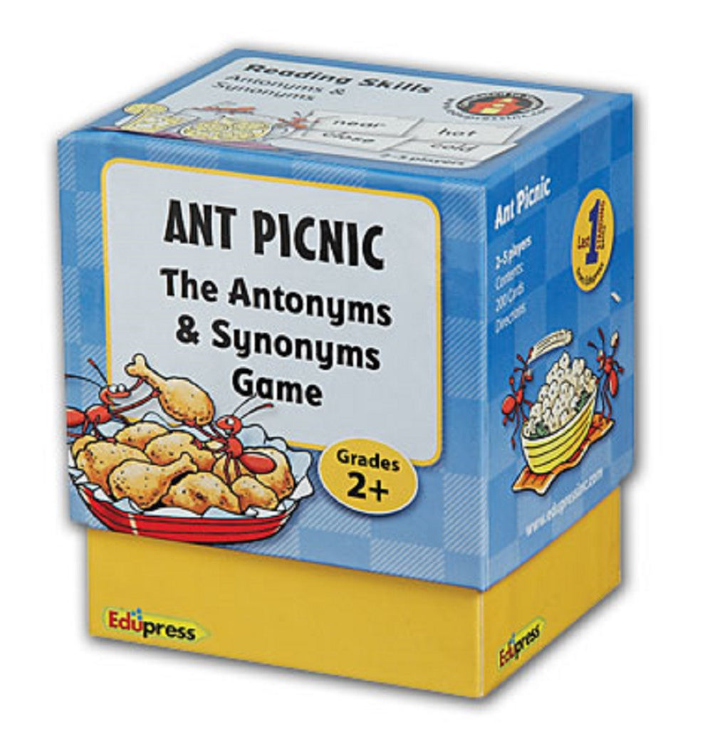 Ant Picnic The Antonyms & Synonyms Game, Grades 2+