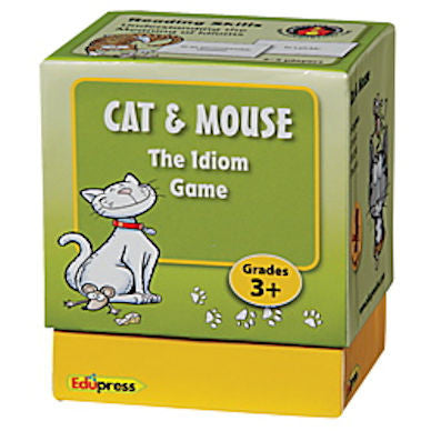 Last One Standing Game, Cat and Mouse The Idioms Game - EducationalLearningGames.com