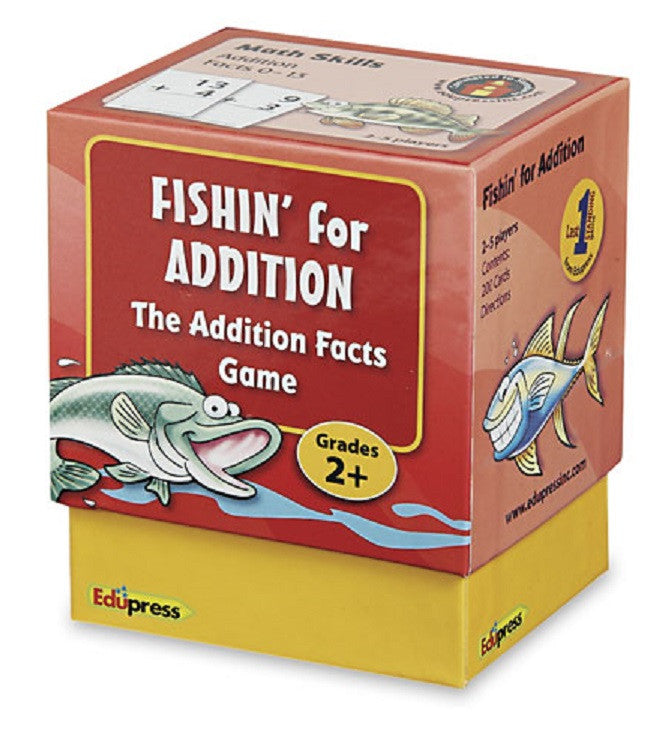 Fishin' for Addition The Addition Facts Card Game