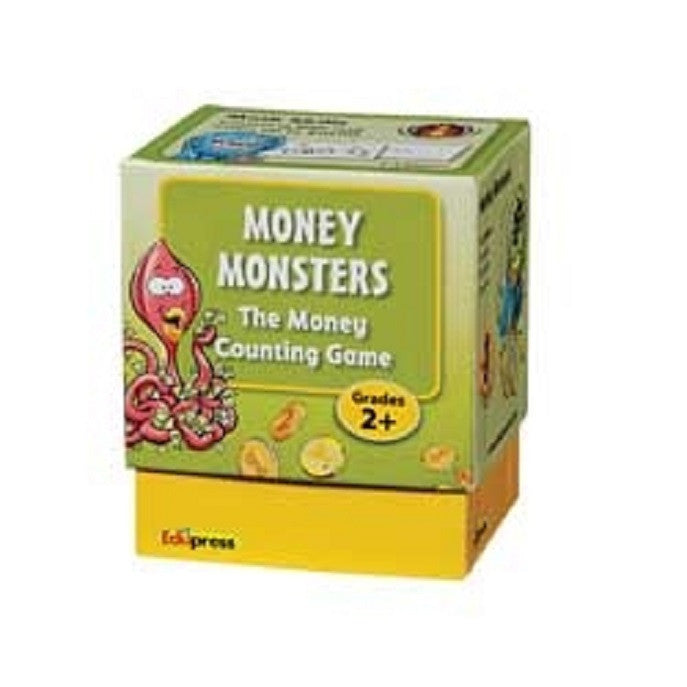 Money Monsters The Money Counting Coins and Bills