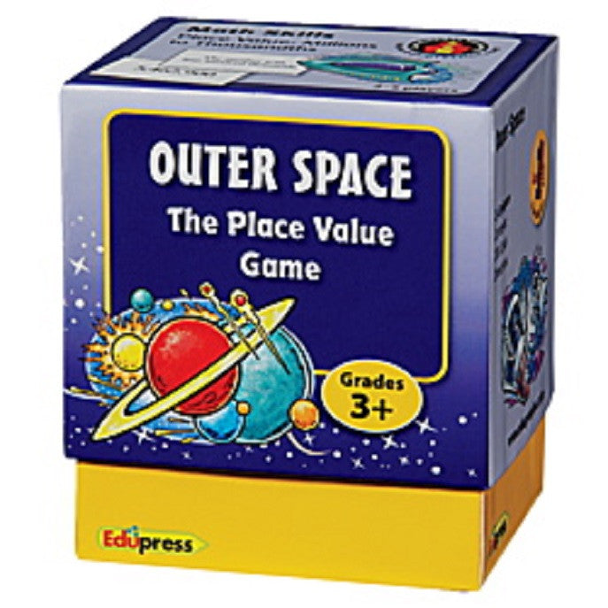 Last One Standing Math Games, Outer Space Place Value, Grade 3+