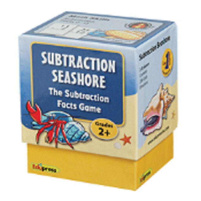 Subtraction Seashore The Subtraction Facts Game