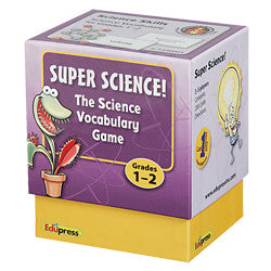 Super Science Vocabulary Game, Grades 1–2