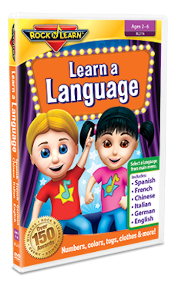 SPANISH Learn a Language DVD - Numbers, Colors & More - EducationalLearningGames.com
