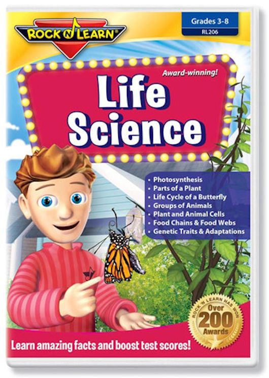 Life Science DVD - EducationalLearningGames.com