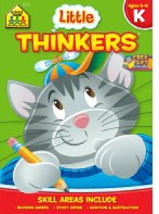 Little Thinkers Kindergarten Workbook