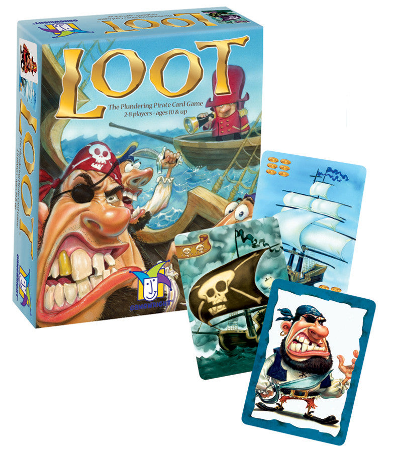 Loot Card Game - EducationalLearningGames.com