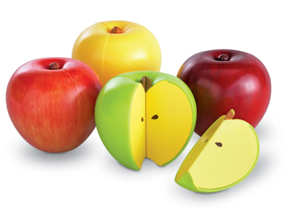 Magnetic Apple Fractions Game Age 5 +