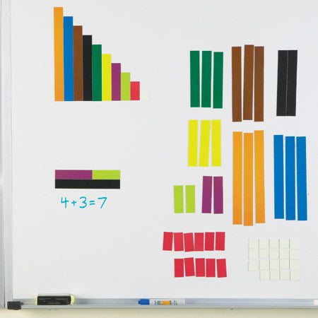 Magnetic Cuisenaire Rods - EducationalLearningGames.com