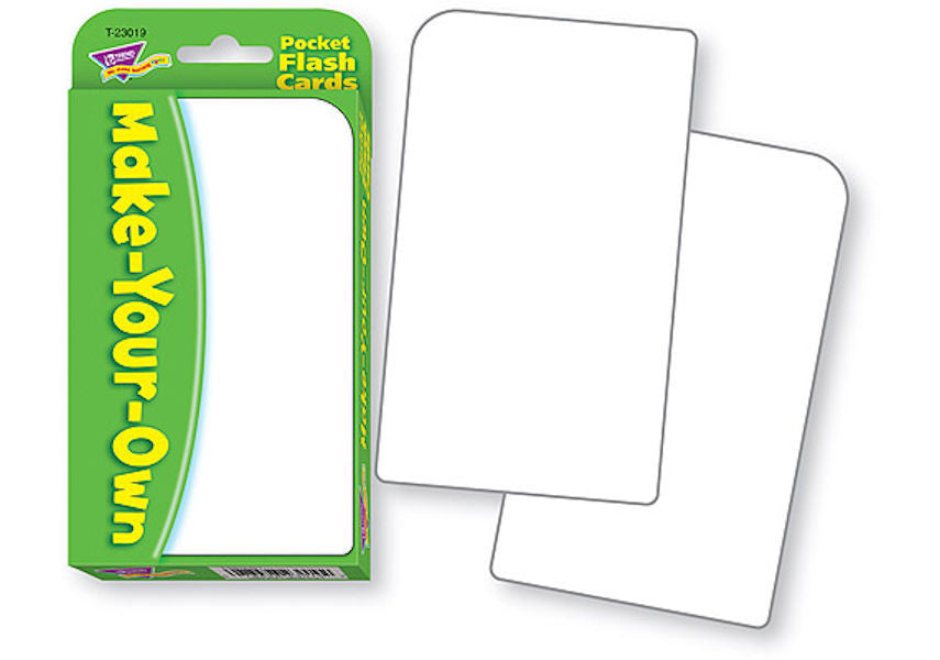 Make-Your-Own Flash Cards
