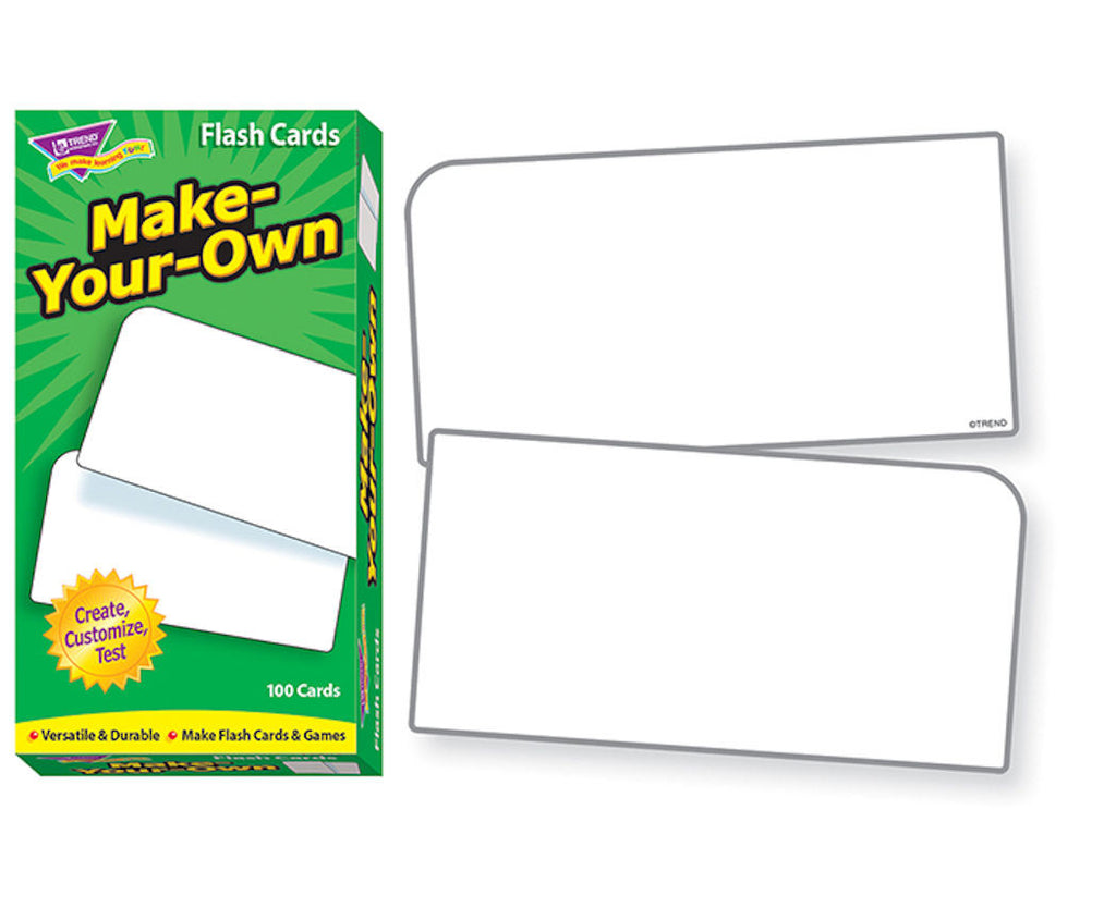 Make-Your-Own Skill Drill Flash Cards - EducationalLearningGames.com