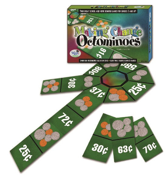 Making Change Octominoes Game