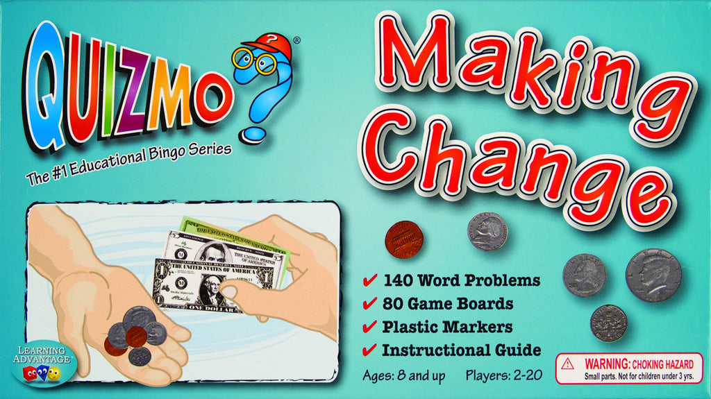 Making Change Quizmo Game