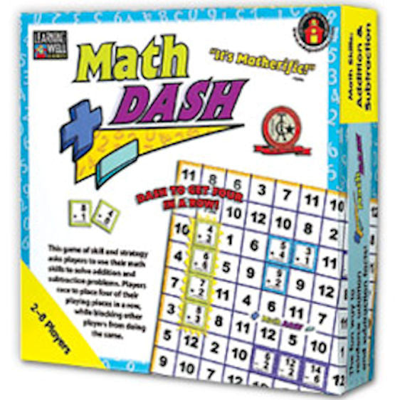 Math Dash Game, Addition and Subtraction - EducationalLearningGames.com