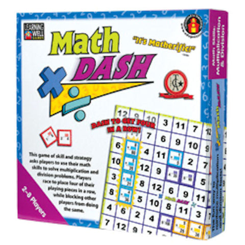 Math Dash Game, Multiplication and Division - EducationalLearningGames.com