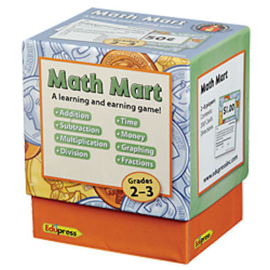 Math Mart Card Game, Grades 2–3 - EducationalLearningGames.com