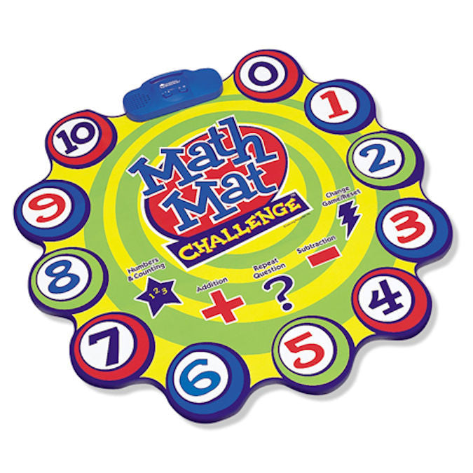 Math Mat Challenge Electronic Game