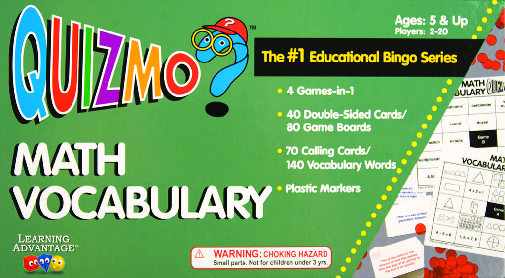 Math Vocabulary Quizmo Game - EducationalLearningGames.com