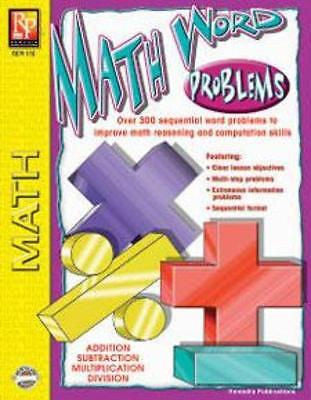 Math Word Problems Workbook for Kids - EducationalLearningGames.com
