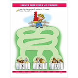 Mazes Preschool Activity Zone Workbook - EducationalLearningGames.com