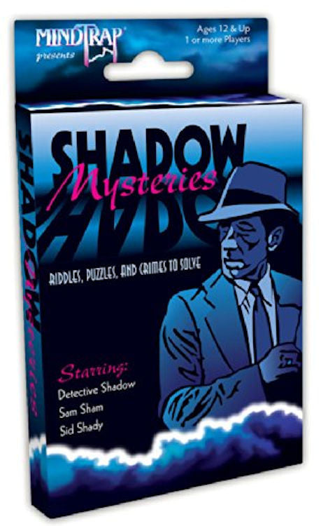 MindTrap Shadow Mysteries Card Game EducationalLearningGames.com