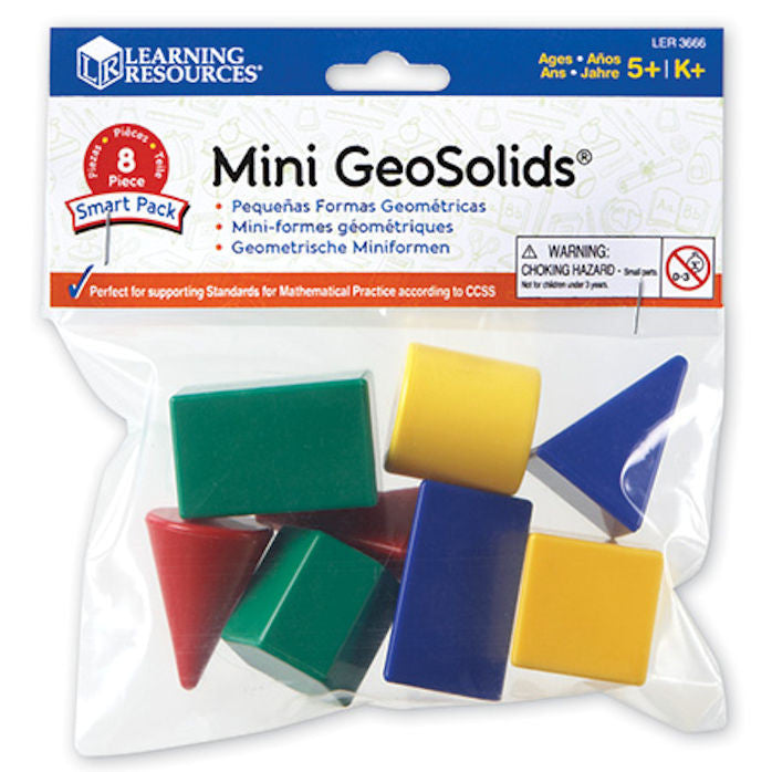 Mini Geosolids Smart Pack - EducationalLearningGames.com