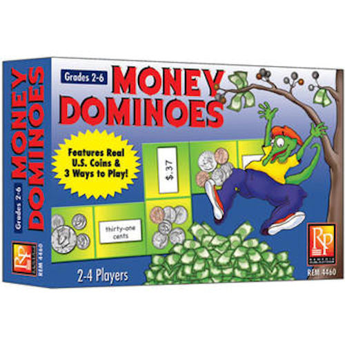 Money Dominoes Game EducationalLearningGames.com