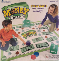 Money Mat Game, Floor Game - EducationalLearningGames.com