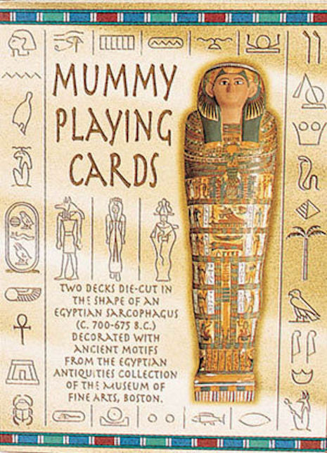 Mummy Rummy Playing Cards - EducationalLearningGames.com