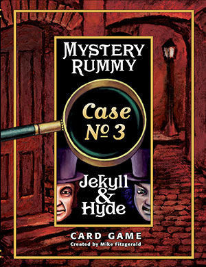 Mystery Rummy Case No. 3 Jekyll and Hyde Game - EducationalLearningGames.com