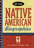 Native American Playing Cards Set One - EducationalLearningGames.com