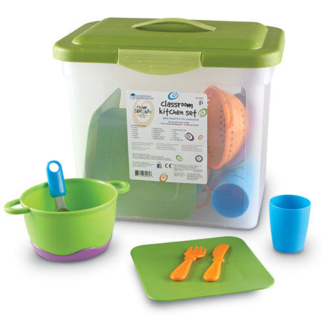 New Sprouts Classroom Kitchen Set - EducationalLearningGames.com