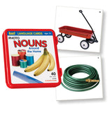 Nouns Around the Home Language Cards - EducationalLearningGames.com