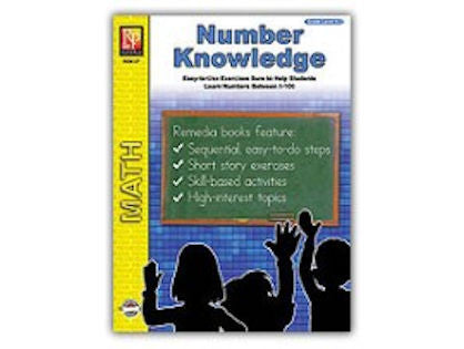 Number Knowledge Workbook - EducationalLearningGames.com